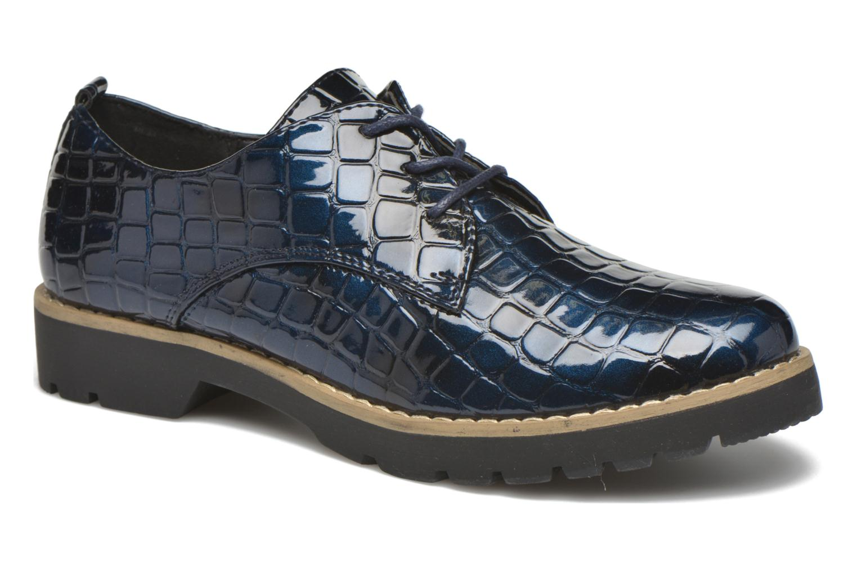 Chaussures à lacets I Love Shoes Thada Bleu vue détail/paire