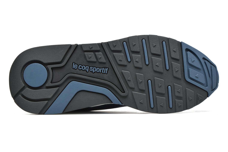 Baskets Le Coq Sportif Lcs R900 Gradient Jacquard Bleu vue haut