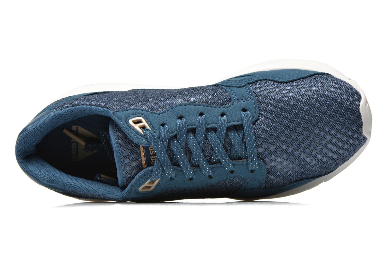 Baskets Le Coq Sportif Lcs R900 W Mesh Bleu vue gauche