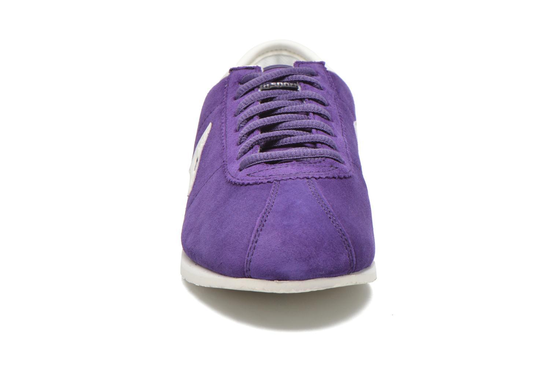 Baskets Le Coq Sportif Wendon W Suede Violet vue portées chaussures