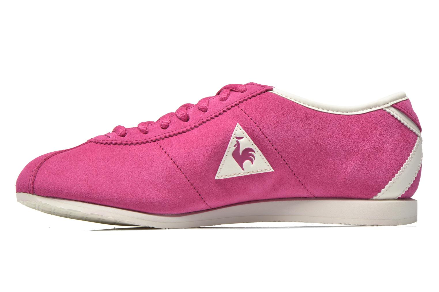 Baskets Le Coq Sportif Wendon W Suede Rose vue face
