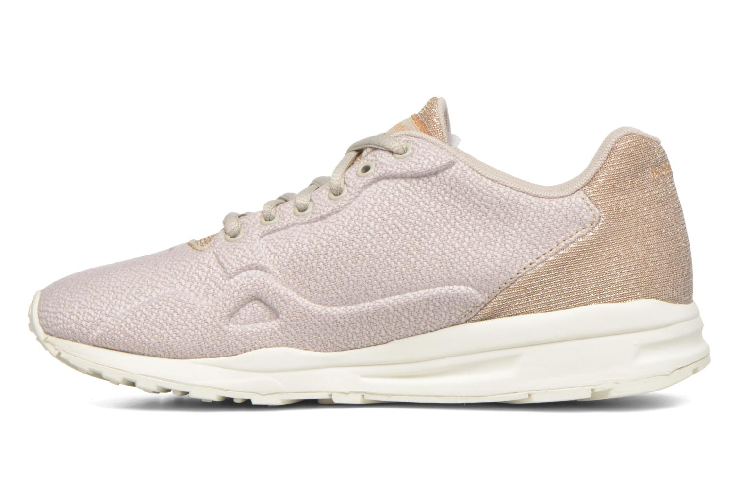 Trainers Le Coq Sportif Lcs R900 W Glitter Beige front view