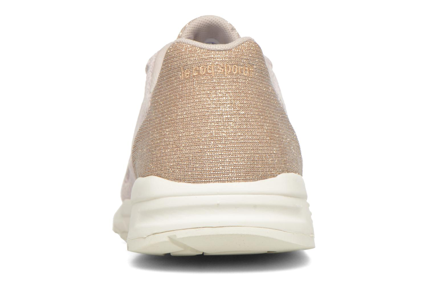 Trainers Le Coq Sportif Lcs R900 W Glitter Beige view from the right