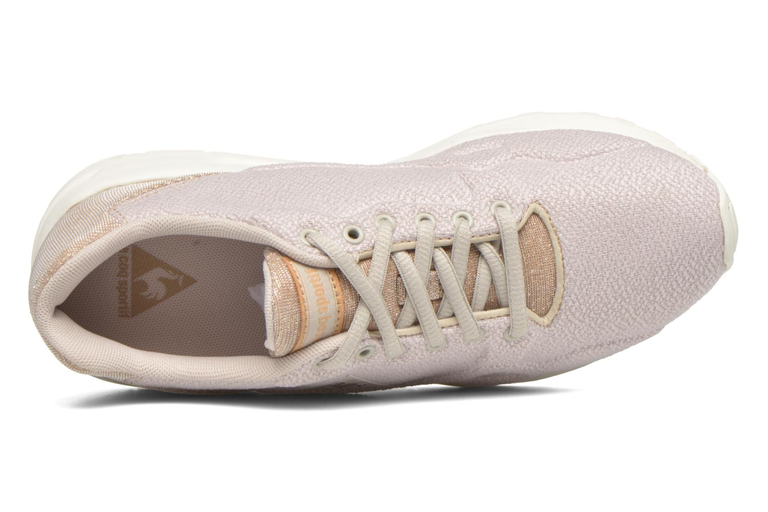 Trainers Le Coq Sportif Lcs R900 W Glitter Beige view from the left