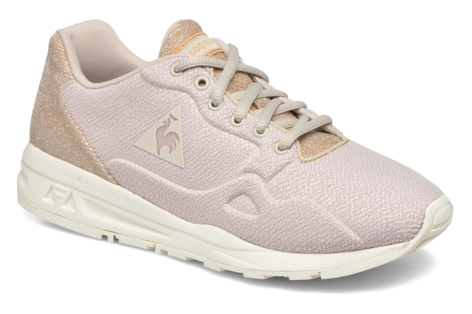 Trainers Le Coq Sportif Lcs R900 W Glitter Beige detailed view/ Pair view