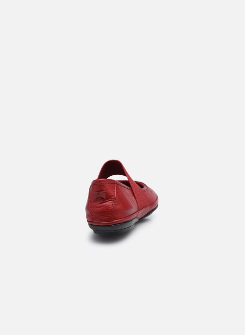 Ballerines Camper Right Nina Rouge vue droite