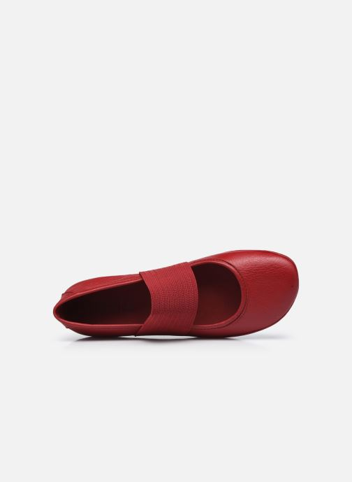 Ballerines Camper Right Nina Rouge vue gauche