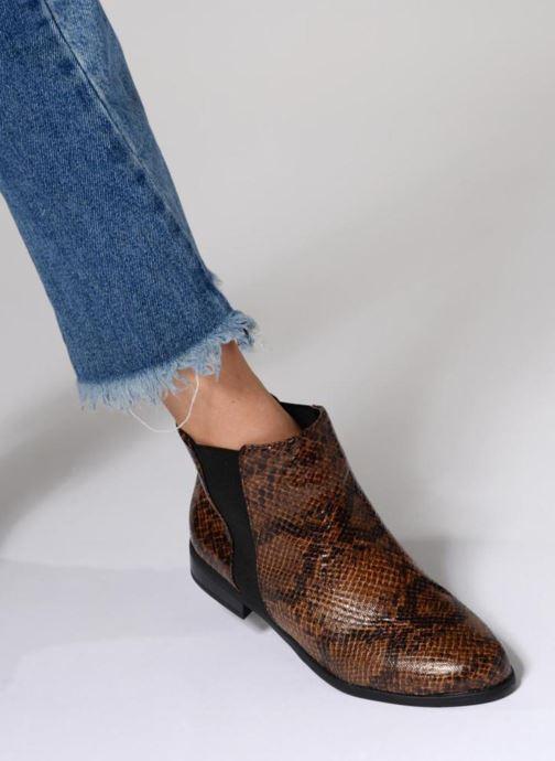 Boots en enkellaarsjes I Love Shoes VYMSE Bruin onder