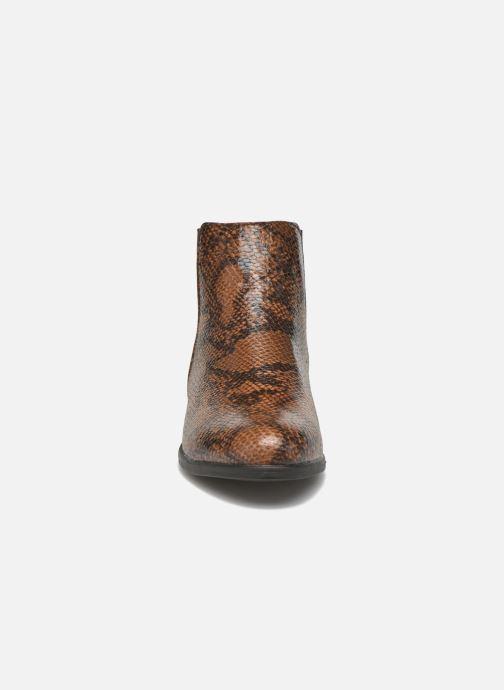 Boots en enkellaarsjes I Love Shoes VYMSE Bruin model