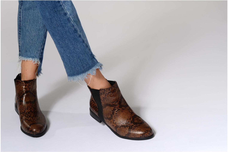 Bottines et boots I Love Shoes VYMSE Marron vue bas / vue portée sac