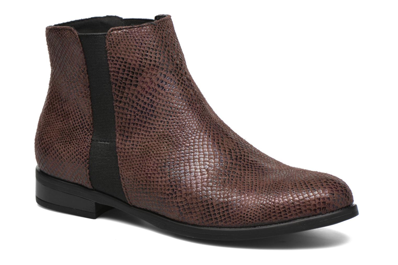 Bottines et boots I Love Shoes VYMSE Marron vue détail/paire