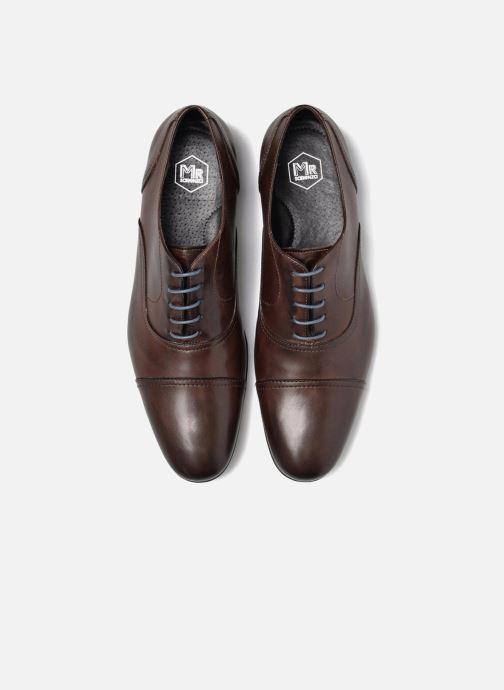 Chaussures à lacets Mr SARENZA Nathan Marron vue portées chaussures