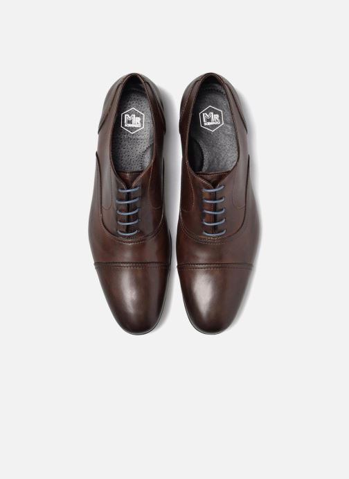 Zapatos con cordones Mr SARENZA Nathan Marrón vista del modelo