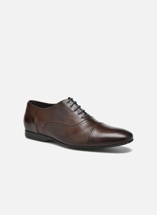 Chaussures à lacets Mr SARENZA Nathan Marron vue droite