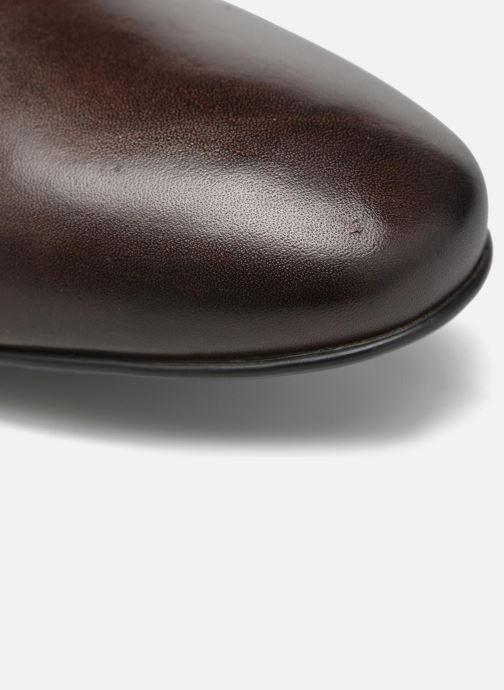 Chaussures à lacets Mr SARENZA Nathan Marron vue gauche