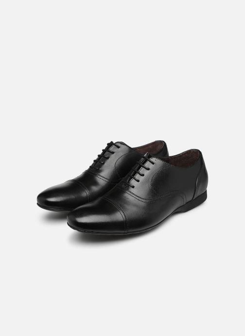 Chaussures à lacets Mr SARENZA Nathan Noir vue bas / vue portée sac