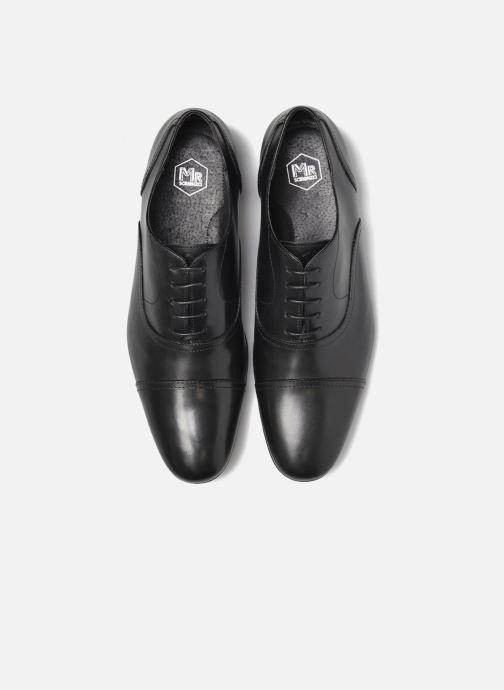 Zapatos con cordones Mr SARENZA Nathan Negro vista del modelo