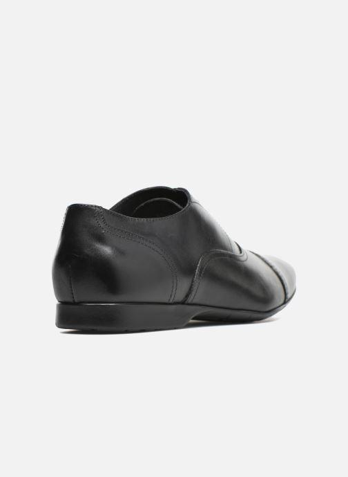 Zapatos con cordones Mr SARENZA Nathan Negro vista de frente