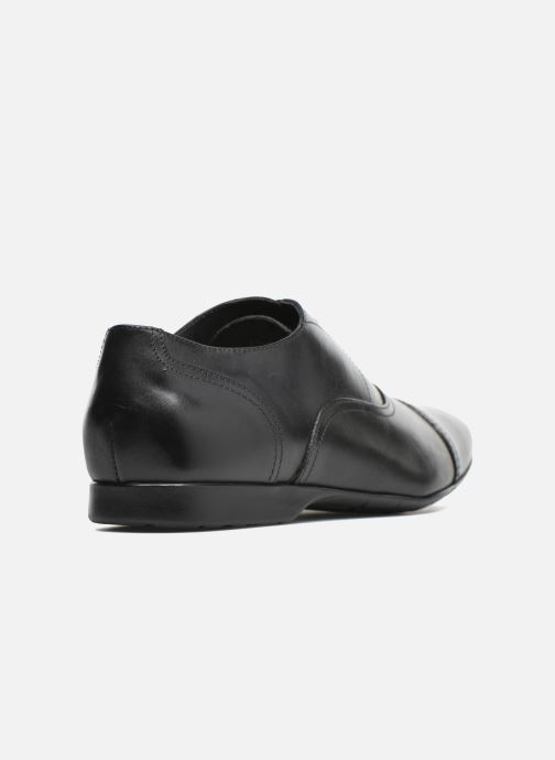 Chaussures à lacets Mr SARENZA Nathan Noir vue face