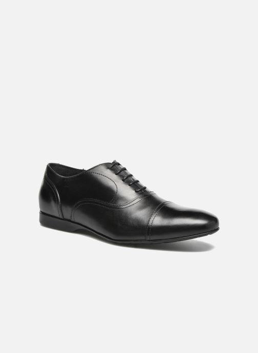 Zapatos con cordones Mr SARENZA Nathan Negro vista lateral derecha