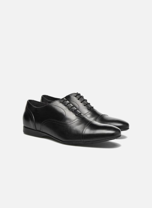 Chaussures à lacets Mr SARENZA Nathan Noir vue derrière