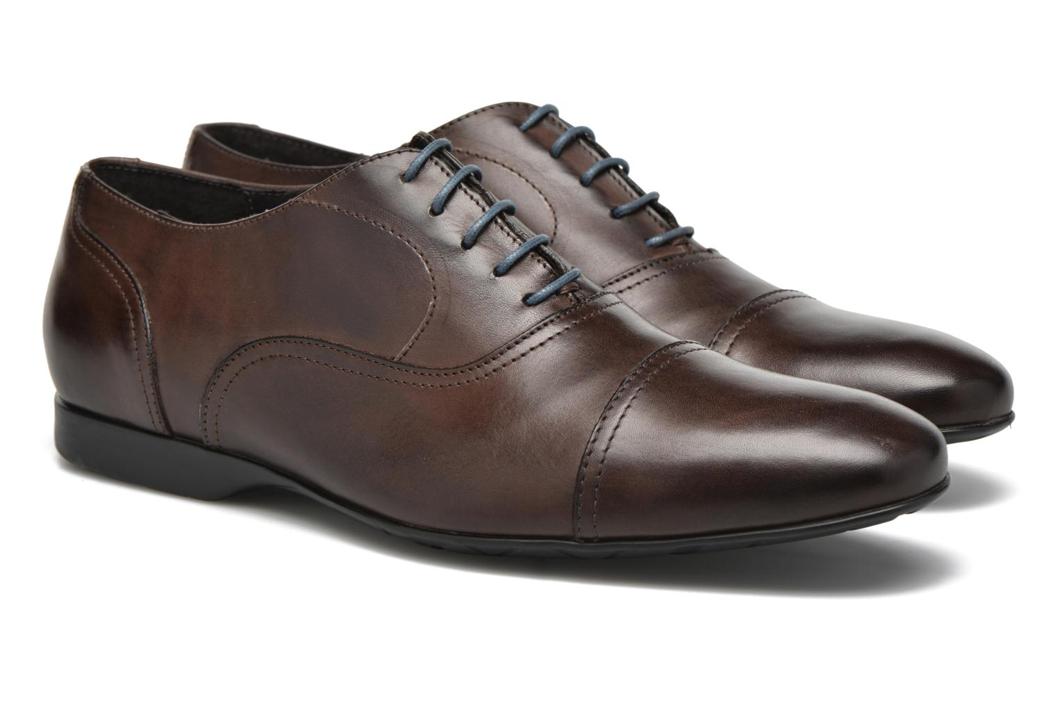 Lace-up shoes Mr SARENZA Nathan Brown back view