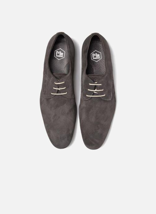 Zapatos con cordones Mr SARENZA Nathy Gris vista del modelo