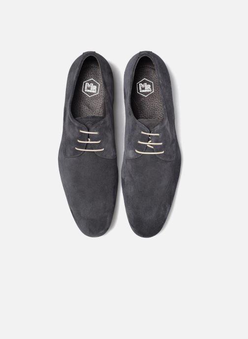 Zapatos con cordones Mr SARENZA Nathy Azul vista del modelo