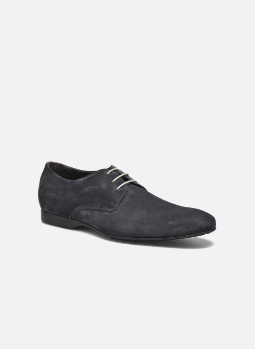 Zapatos con cordones Mr SARENZA Nathy Azul vista lateral derecha