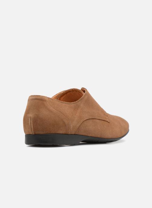 Zapatos con cordones Mr SARENZA Nathy Marrón vista de frente