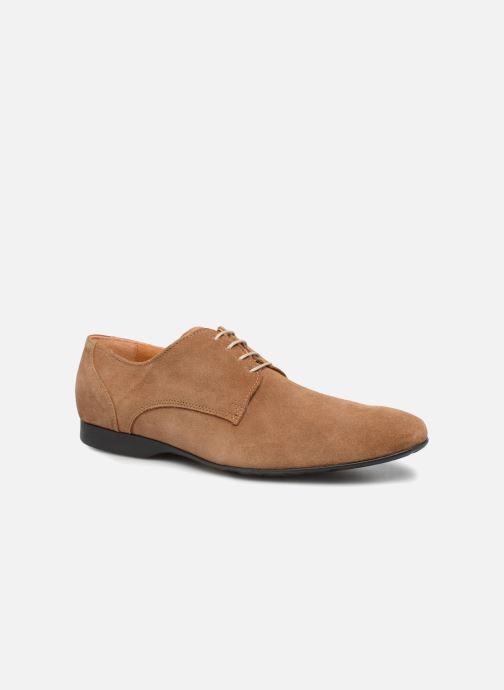 Zapatos con cordones Mr SARENZA Nathy Marrón vista lateral derecha