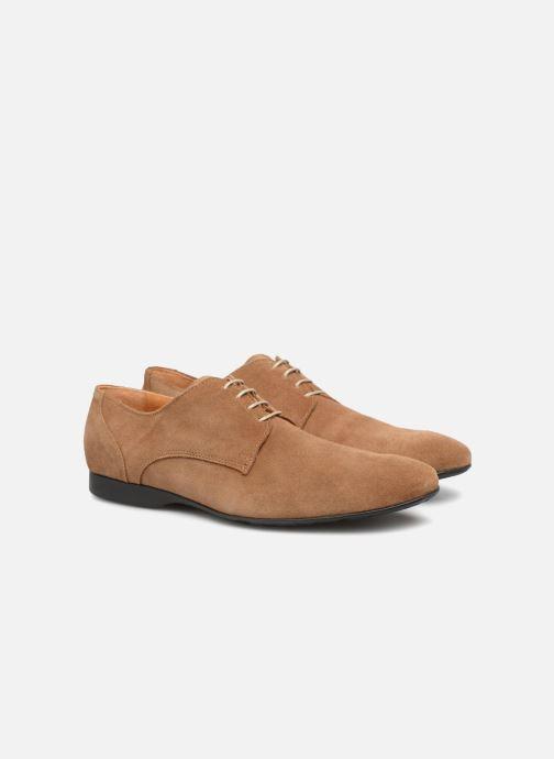 Zapatos con cordones Mr SARENZA Nathy Marrón vistra trasera
