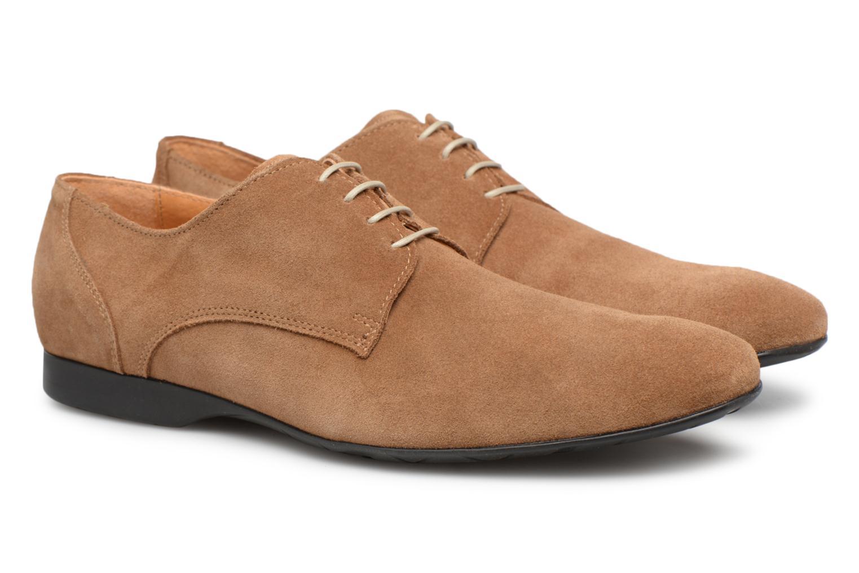 Chaussures à lacets Mr SARENZA Nathy Marron vue derrière