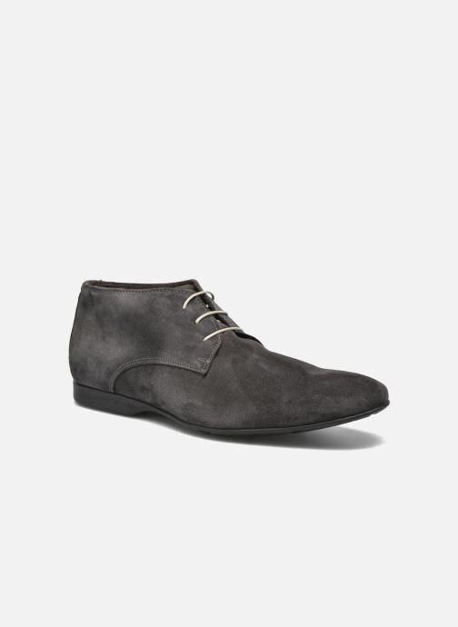 Zapatos con cordones Mr SARENZA Nathanael Gris vista lateral derecha