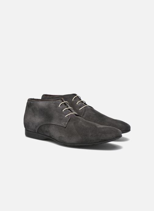 Zapatos con cordones Mr SARENZA Nathanael Gris vistra trasera