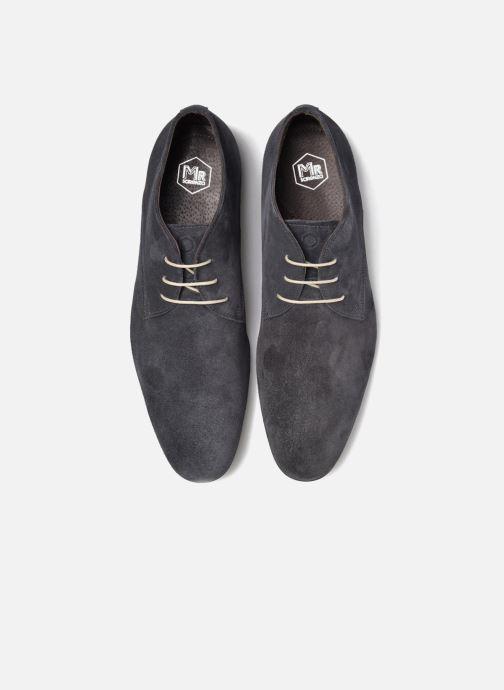 Zapatos con cordones Mr SARENZA Nathanael Azul vista del modelo