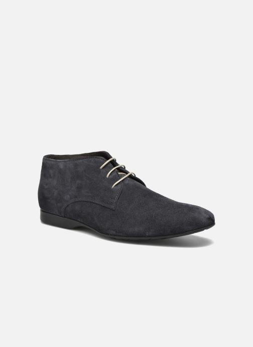 Zapatos con cordones Mr SARENZA Nathanael Azul vista lateral derecha