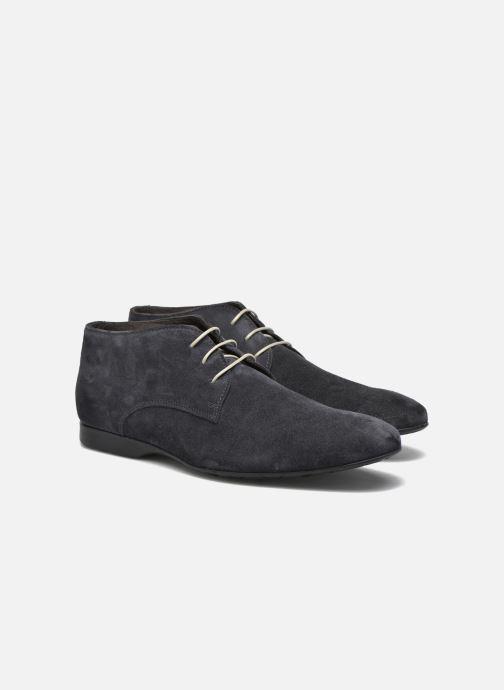 Zapatos con cordones Mr SARENZA Nathanael Azul vistra trasera