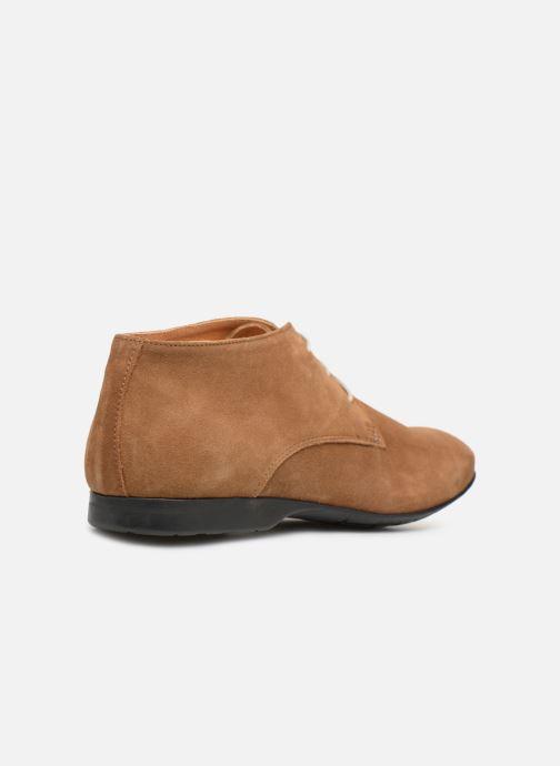 Chaussures à lacets Mr SARENZA Nathanael Marron vue face