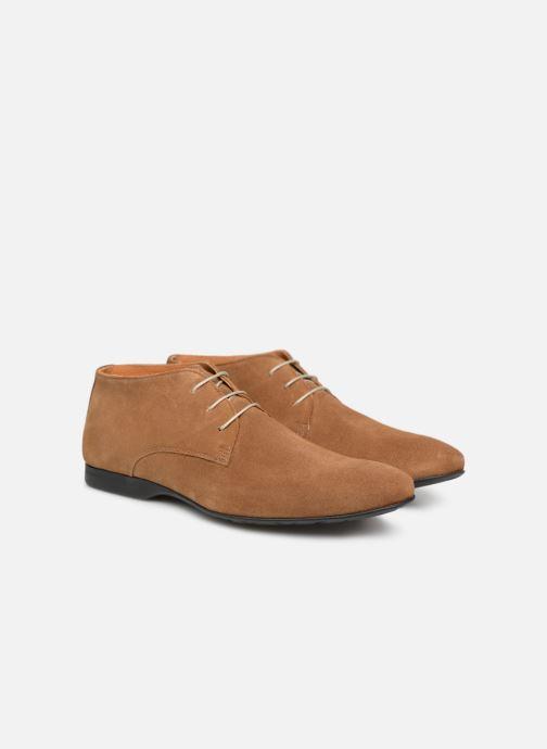 Zapatos con cordones Mr SARENZA Nathanael Marrón vistra trasera