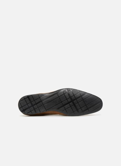 Chaussures à lacets Mr SARENZA Nathanael Marron vue haut