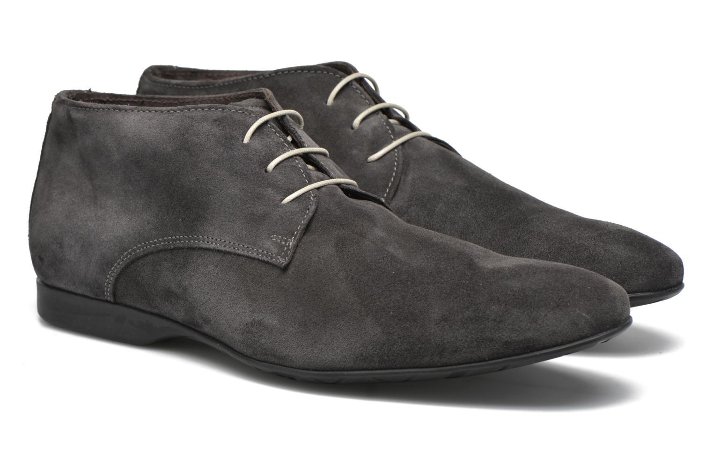 Chaussures à lacets Mr SARENZA Nathanael Gris vue derrière