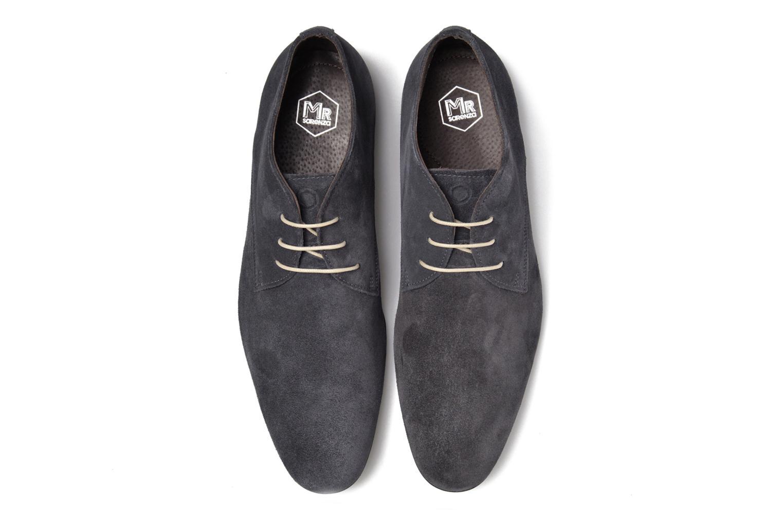 Chaussures à lacets Mr SARENZA Nathanael Bleu vue portées chaussures