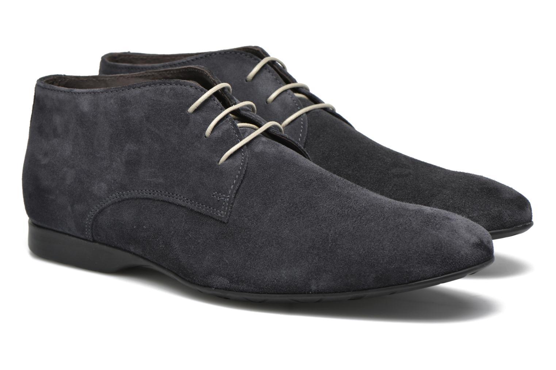 Chaussures à lacets Mr SARENZA Nathanael Bleu vue derrière