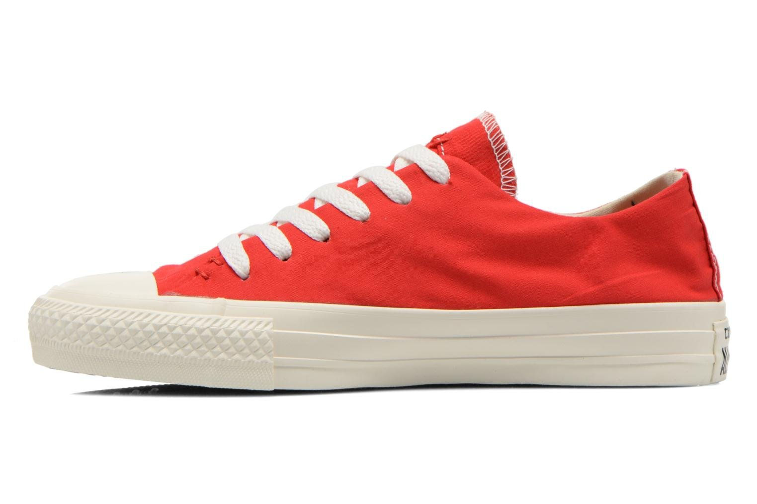 Baskets Converse Chuck Taylor All Star Sawyer Ox K Rouge vue face