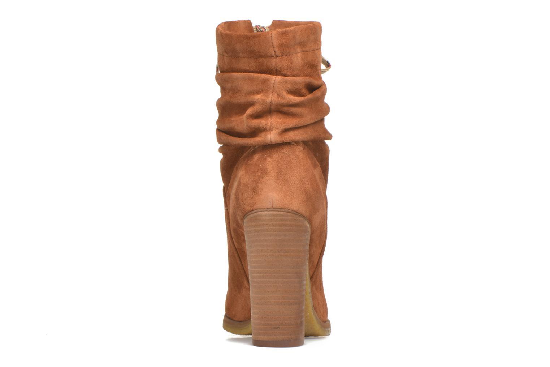 Bottines et boots See by Chloé Yvil Orange vue droite