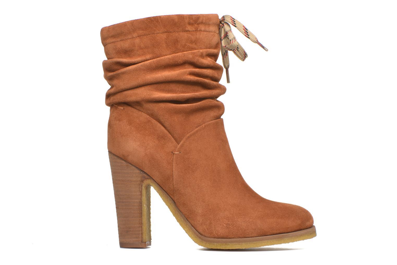 Bottines et boots See by Chloé Yvil Orange vue derrière