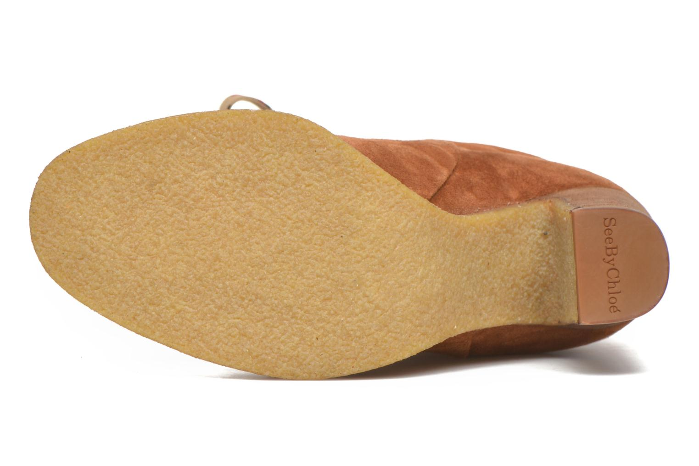 Bottines et boots See by Chloé Yvil Orange vue haut