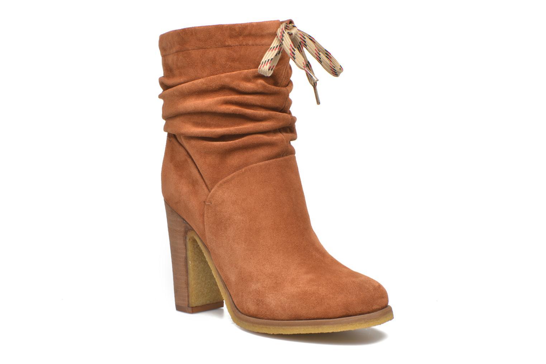 Bottines et boots See by Chloé Yvil Orange vue détail/paire