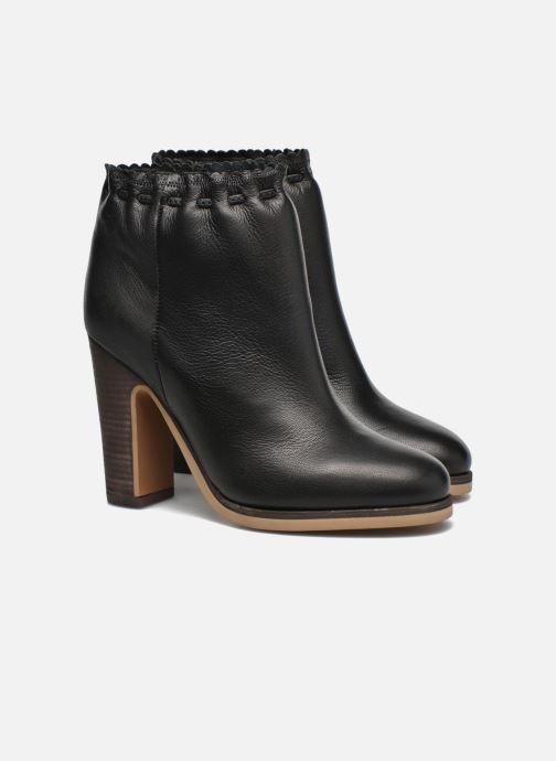 Boots en enkellaarsjes See by Chloé Yspa Zwart 3/4'